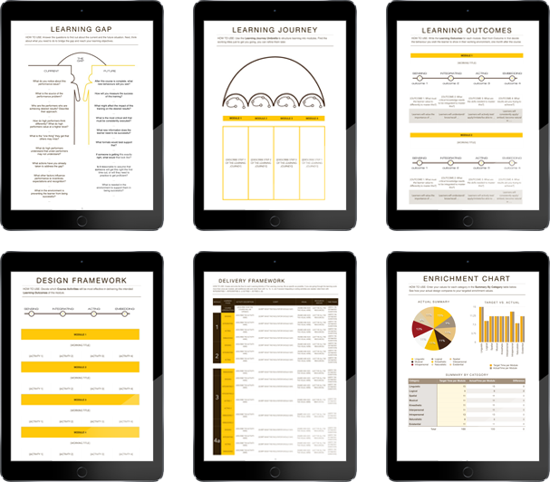 Learning Design Templates